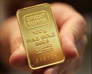 credit suisse gold bar, fine gold bar, fine gold