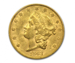 Liberty Gold Coin - Obverse