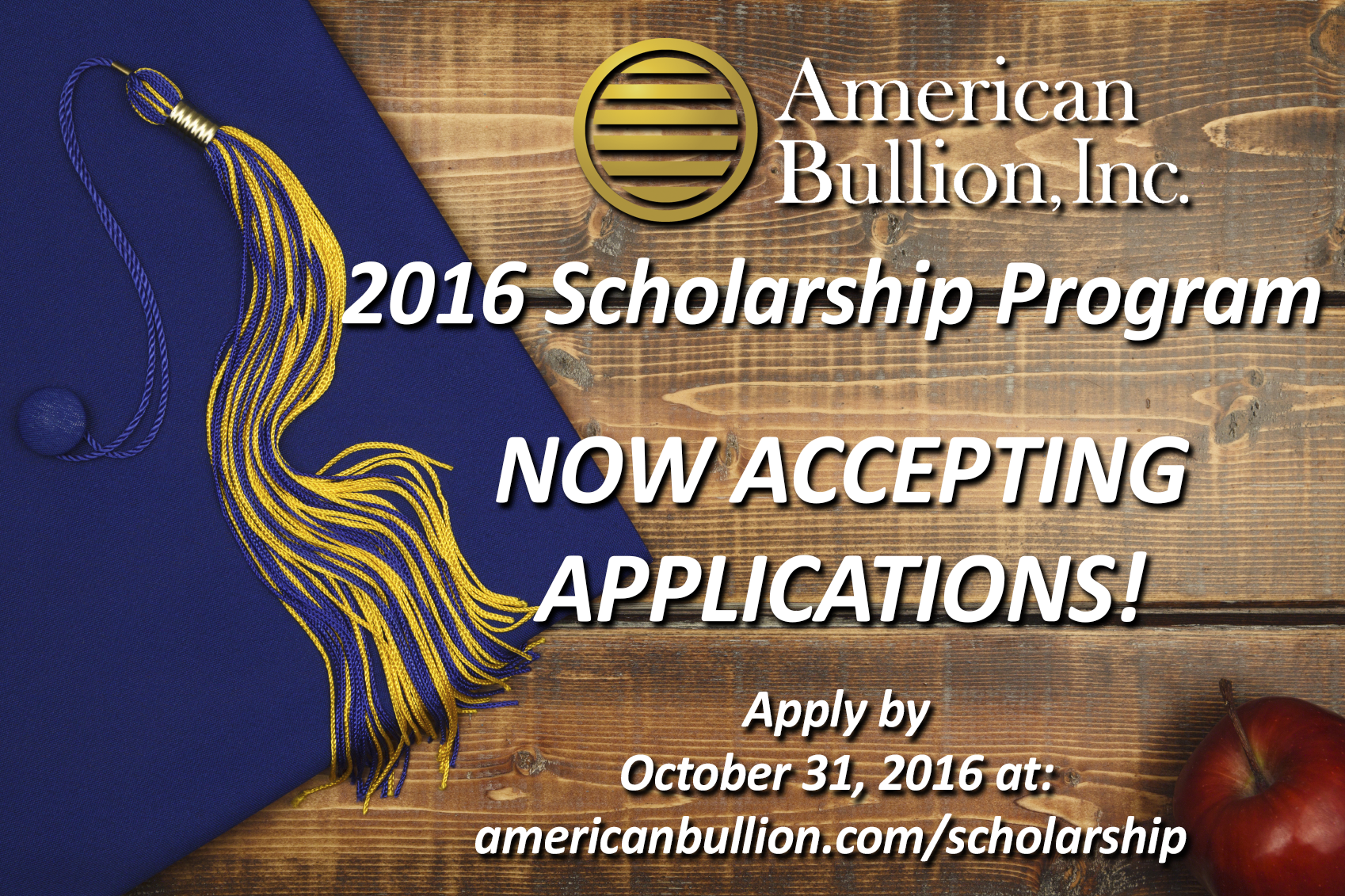 2016 Scholarship Accepting
