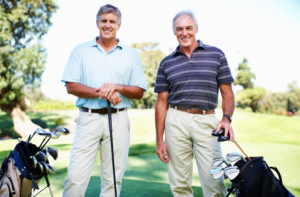 golfers, retirement