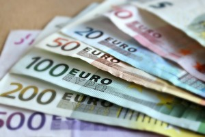 euro banknotes, euro, currency