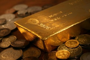 gold bullion, gold bar, gold coins