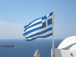 greek-flag-waving